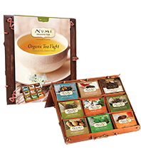 This is the picture of Organic Tea Flight Gift Set under the category NumiTeaStore@Specials in Numi Organic Tea. Click to add to cart.