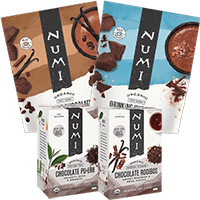 This is the picture of Chocolate Lovers Gift Set under the category NumiTeaStore@Gifts@TeaBag in Numi Organic Tea. Click to add to cart.