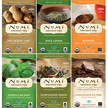 This is the picture of Favorite Pairings Variety Bundle under the category NumiTeaStore@Teabag@Assortment in Numi Organic Tea. Click to add to cart.