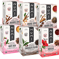 This is the picture of Holiday Tea Variety Bundle under the category NumiTeaStore@Gifts@TeaBag in Numi Organic Tea. Click to add to cart.