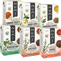This is the picture of Rest & Relaxation Variety Bundle Gift Set under the category NumiTeaStore@Teabag@Assortment in Numi Organic Tea. Click to add to cart.