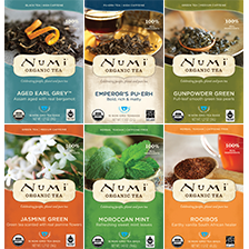This is the picture of Numi's Top Teas & Teasans Variety Bundle under the category NumiTeaStore@BestSellers in Numi Organic Tea. Click to add to cart.