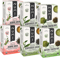 This is the picture of Traditional Green Tea Sampler under the category NumiTeaStore@Teabag@Assortment in Numi Organic Tea. Click to add to cart.